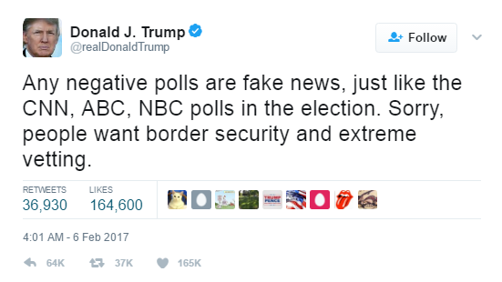 trump fake news